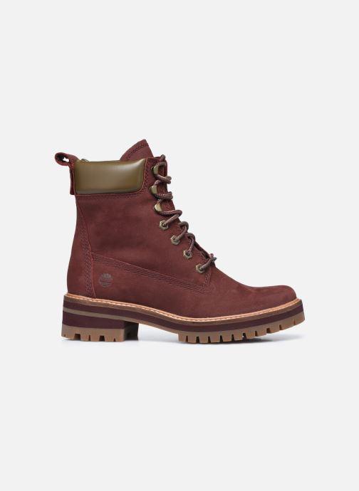 Bottines et boots Timberland Courmayeur Valley YBoot Bordeaux vue derrière