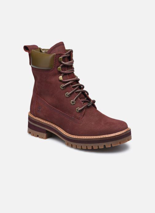 Bottines et boots Timberland Courmayeur Valley YBoot Bordeaux vue détail/paire