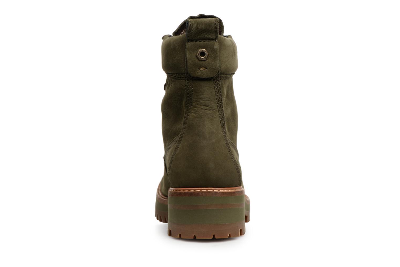 Bottines et boots Timberland Courmayeur Valley YBoot Vert vue droite