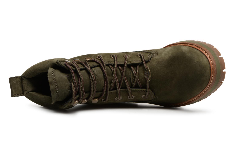 Bottines et boots Timberland Courmayeur Valley YBoot Vert vue gauche