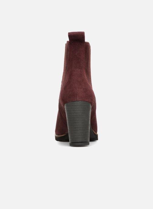 Bottines et boots Timberland Leslie Anne Chelsea Bordeaux vue droite