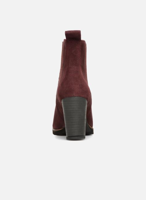 Ankle boots Timberland Leslie Anne Chelsea Burgundy view from the right
