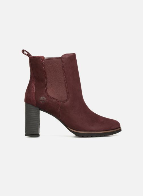 Ankle boots Timberland Leslie Anne Chelsea Burgundy back view
