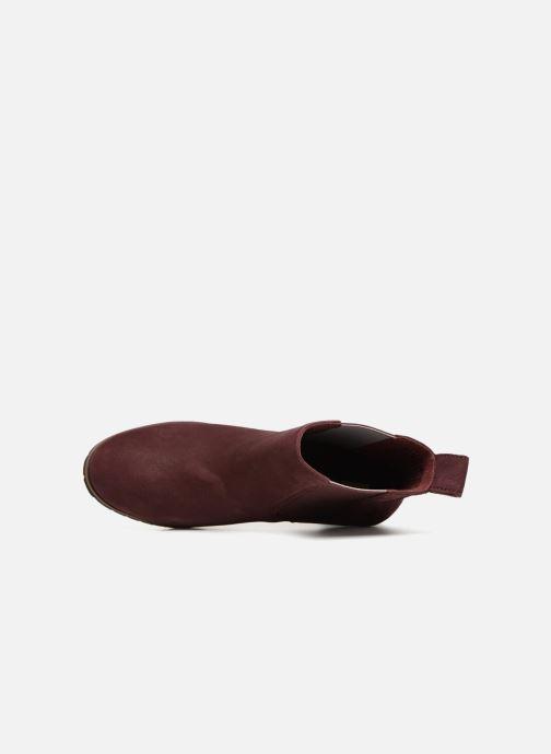 Bottines et boots Timberland Leslie Anne Chelsea Bordeaux vue gauche