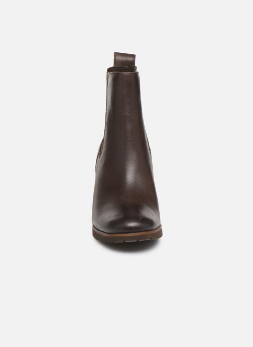 Boots en enkellaarsjes Timberland Leslie Anne Chelsea Bruin model