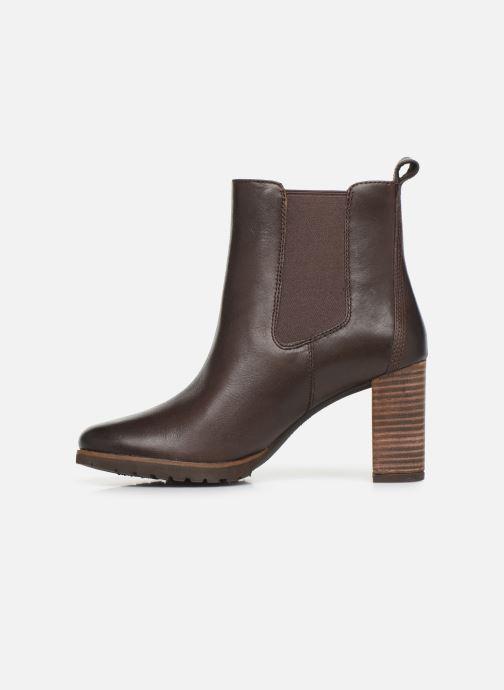 Boots en enkellaarsjes Timberland Leslie Anne Chelsea Bruin voorkant