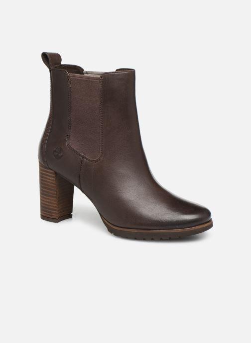 Boots en enkellaarsjes Timberland Leslie Anne Chelsea Bruin detail