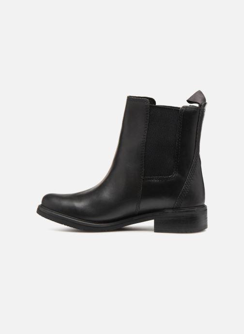Boots en enkellaarsjes Timberland Mont Chevalier Chelsea Zwart voorkant