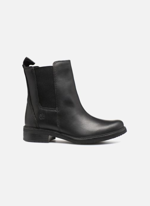 Bottines et boots Timberland Mont Chevalier Chelsea Noir vue derrière