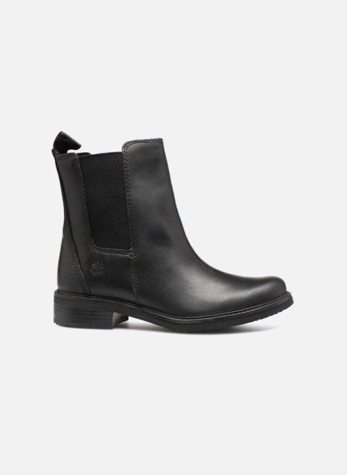 Boots en enkellaarsjes Timberland Mont Chevalier Chelsea Zwart achterkant