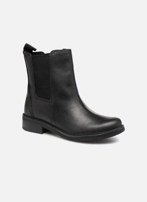 Boots en enkellaarsjes Timberland Mont Chevalier Chelsea Zwart detail