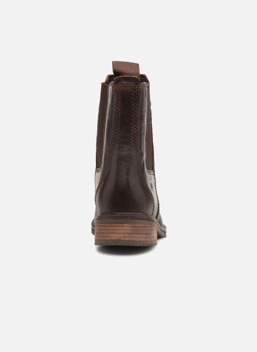 Bottines et boots Timberland Mont Chevalier Chelsea Marron vue droite