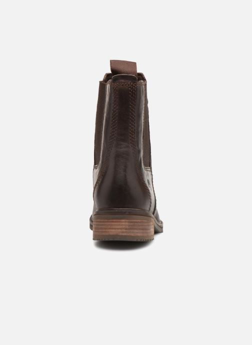 Ankle boots Timberland Mont Chevalier Chelsea Brown view from the right