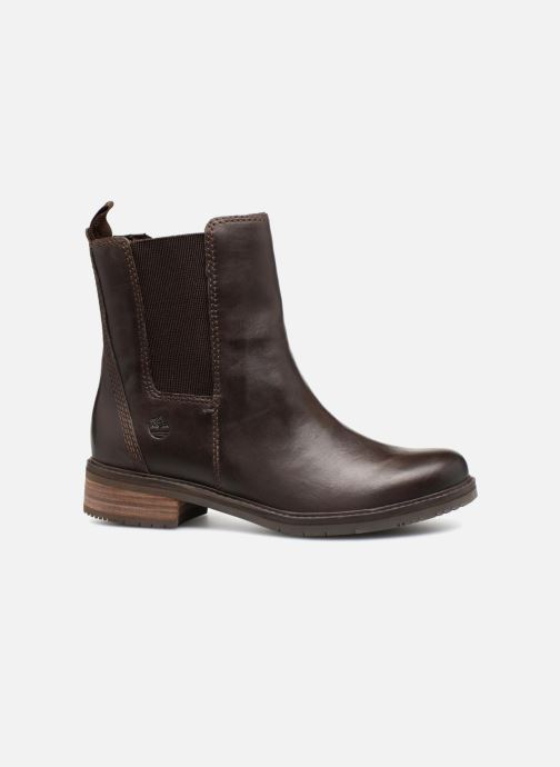 Ankle boots Timberland Mont Chevalier Chelsea Brown back view