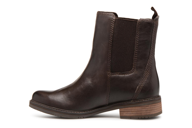 Bottines et boots Timberland Mont Chevalier Chelsea Marron vue face