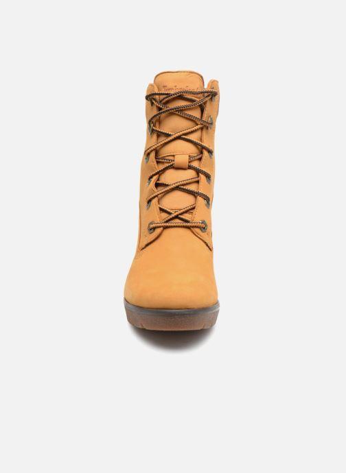 Boots en enkellaarsjes Timberland Paris Height 6in Bruin model