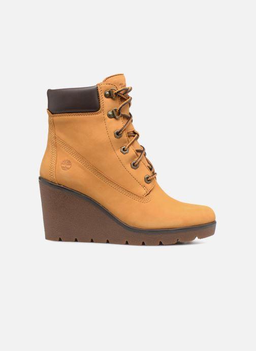 Boots en enkellaarsjes Timberland Paris Height 6in Bruin achterkant