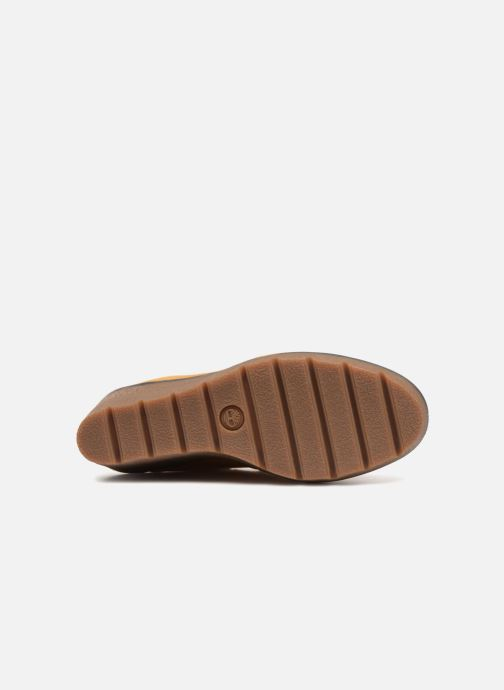 Boots en enkellaarsjes Timberland Paris Height 6in Bruin boven