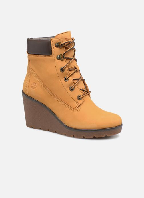 Boots en enkellaarsjes Timberland Paris Height 6in Bruin detail
