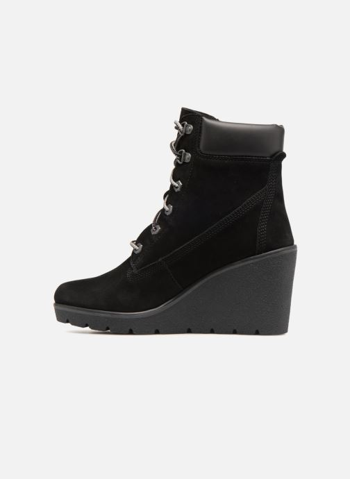 Bottines et boots Timberland Paris Height 6in Noir vue face