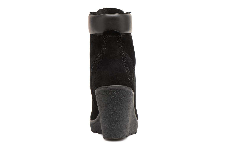 Paris Timberland Height Luxe 6in Black Elko HOd0wO