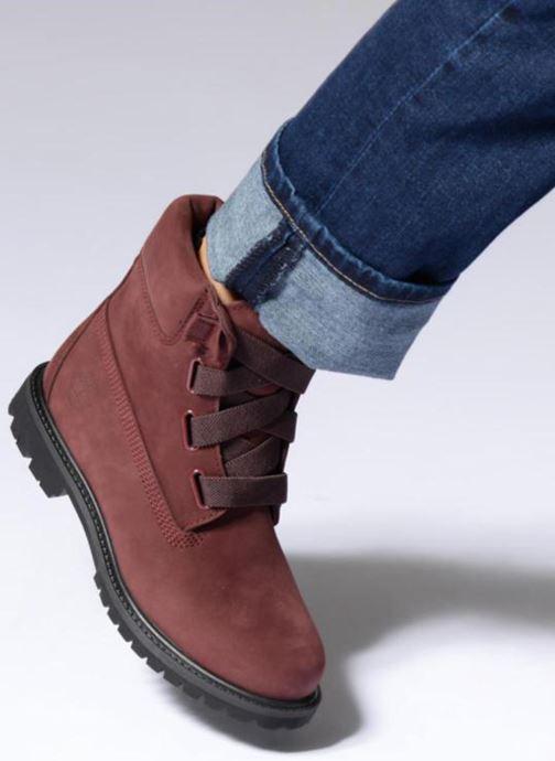 Bottines et boots Timberland 6in Premium Convenience Bordeaux vue bas / vue portée sac