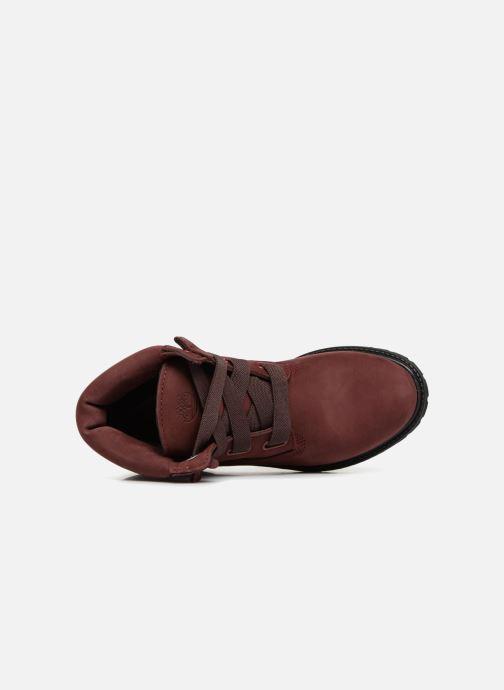 Bottines et boots Timberland 6in Premium Convenience Bordeaux vue gauche