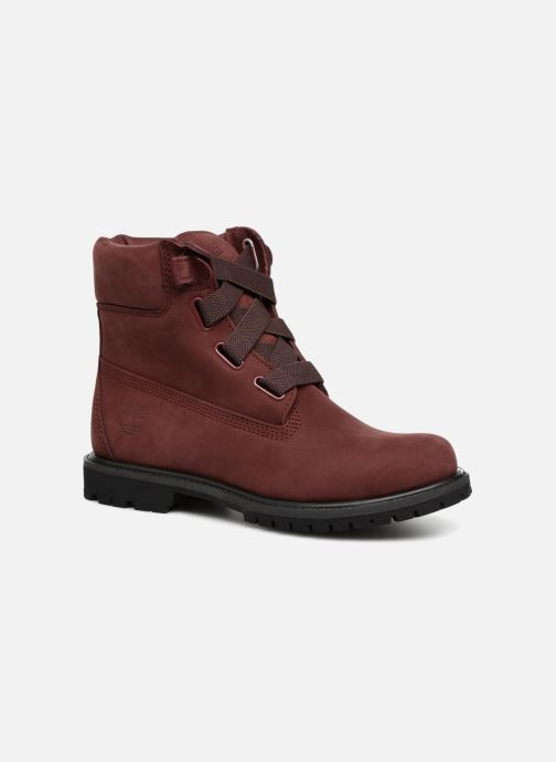 Bottines et boots Timberland 6in Premium Convenience Bordeaux vue détail/paire