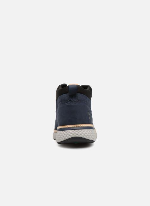 Sneakers Timberland Cross Mark PT Chukka Blauw rechts
