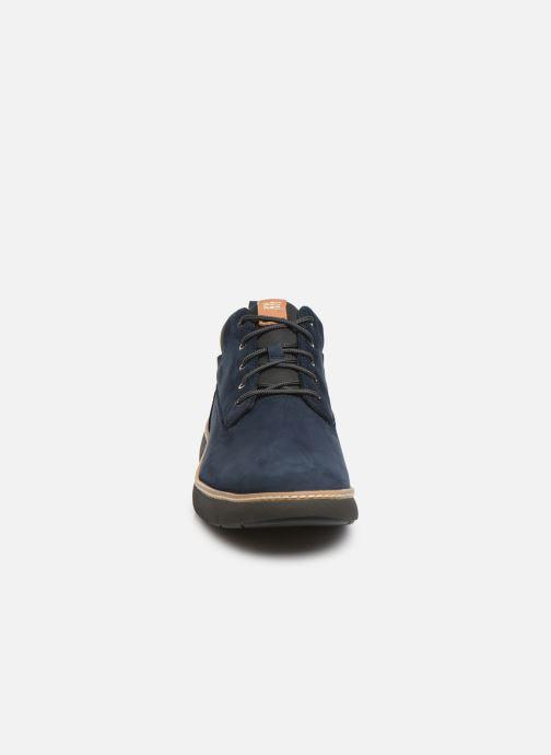 Baskets Timberland Cross Mark PT Chukka Bleu vue portées chaussures