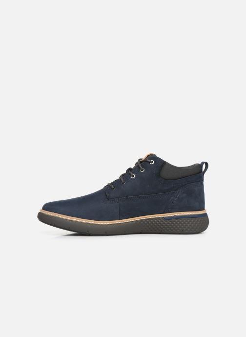 Sneaker Timberland Cross Mark PT Chukka blau ansicht von vorne