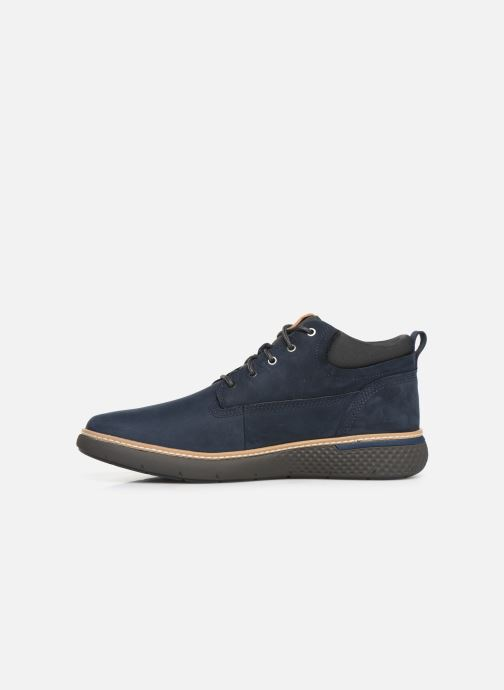 Sneakers Timberland Cross Mark PT Chukka Blauw voorkant