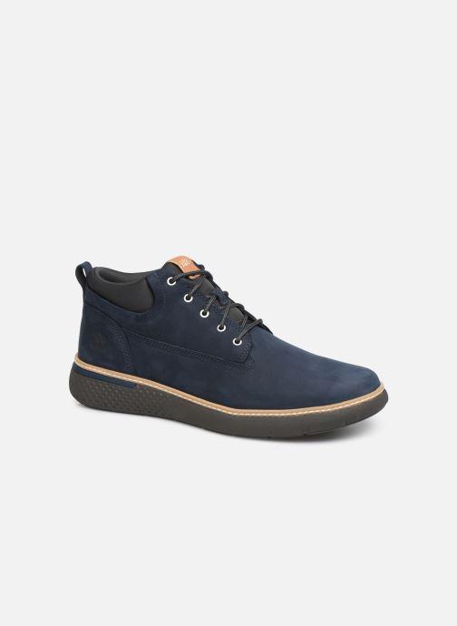 Sneaker Timberland Cross Mark PT Chukka blau detaillierte ansicht/modell