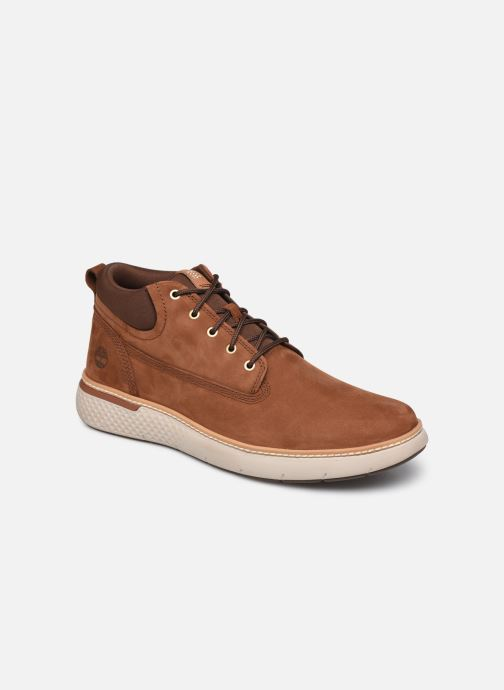 Baskets Timberland Cross Mark PT Chukka Marron vue détail/paire