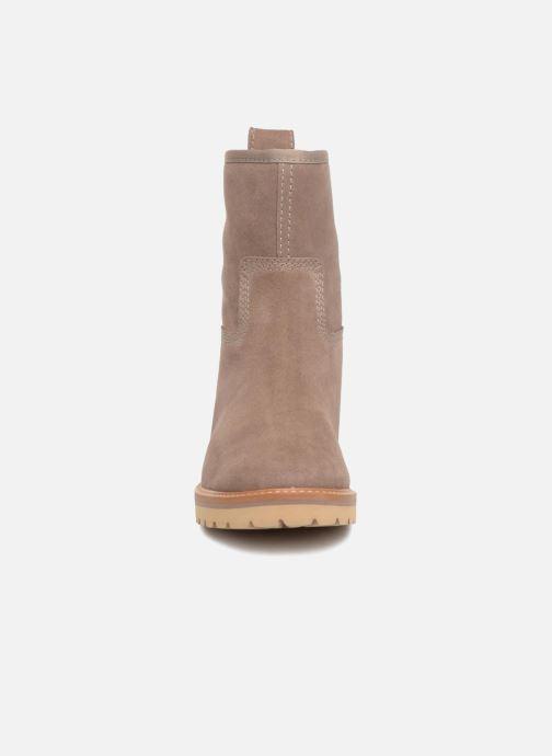Bottines et boots Timberland Chamonix Valley WP Boot Marron vue portées chaussures