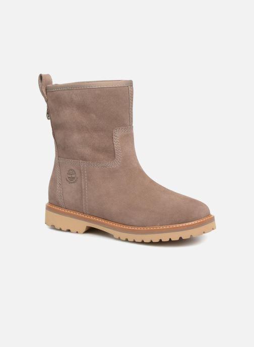 7933eaedf8f Bottines et boots Timberland Chamonix Valley WP Boot Marron vue détail paire