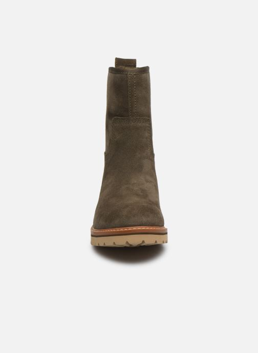 Bottines et boots Timberland Chamonix Valley WP Boot Vert vue portées chaussures