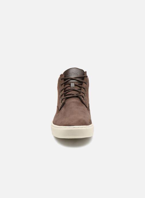 Baskets Timberland Dauset Chukka Marron vue portées chaussures