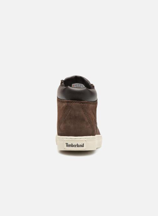 Sneaker Timberland Dauset Chukka braun ansicht von rechts