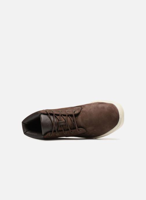 Sneaker Timberland Dauset Chukka braun ansicht von links