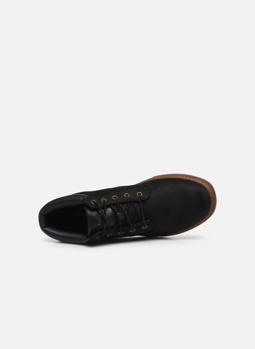 Trainers Timberland Dauset Chukka Black view from the left