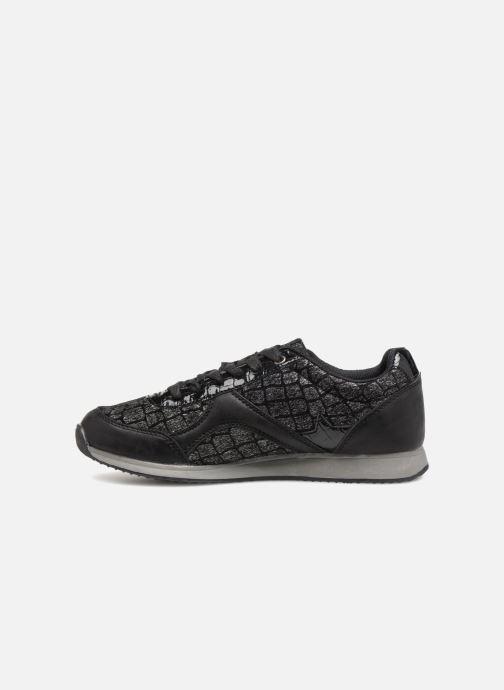 Sneaker Divine Factory Aram 2 Noir schwarz ansicht von vorne
