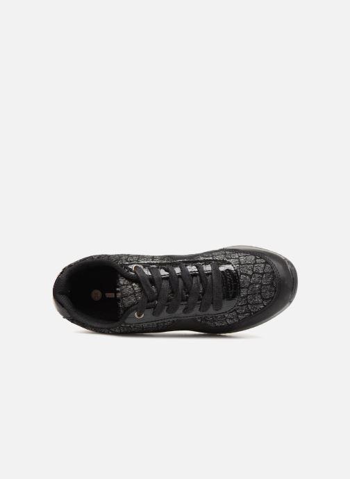 Sneaker Divine Factory Aram 2 Noir schwarz ansicht von links