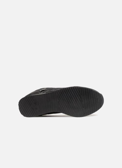 Sneaker Divine Factory Aram 2 Noir schwarz ansicht von oben
