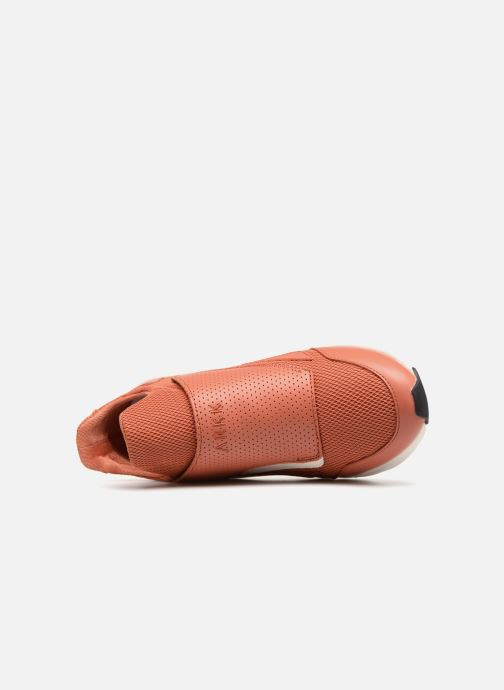 Sneaker ARKK COPENHAGEN Apextron Mesh W13 W rot ansicht von links