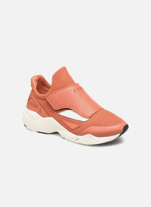 Trainers ARKK COPENHAGEN Apextron Mesh W13 W Red detailed view/ Pair view