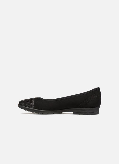 Ballerines Jana shoes MENA Noir vue face