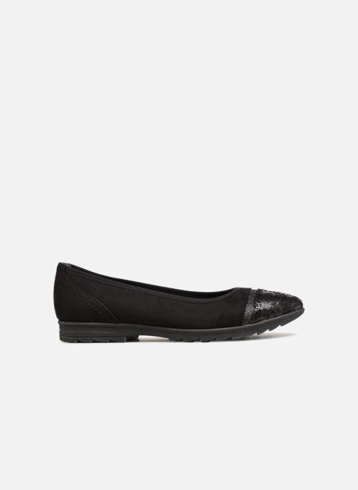 Ballerines Jana shoes MENA Noir vue derrière