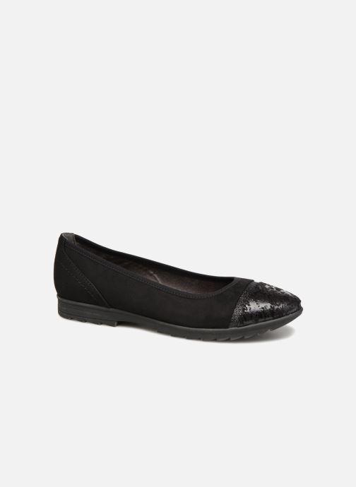 Ballerines Jana shoes MENA Noir vue détail/paire