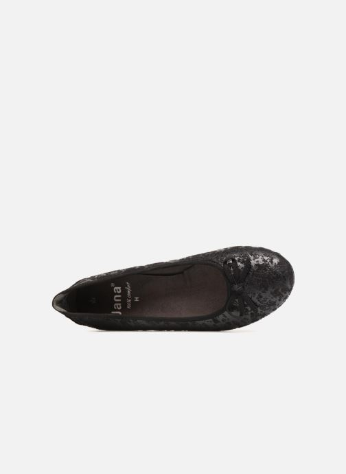 Ballerines Jana shoes PANAMA Noir vue gauche